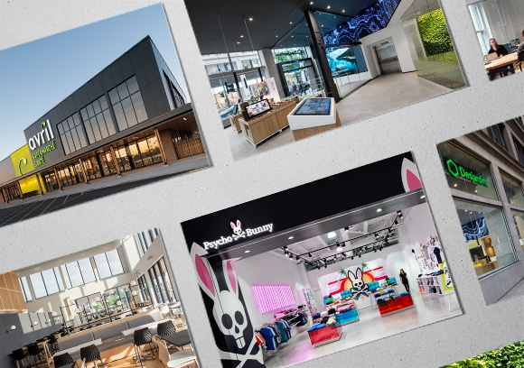 3 award-winning projects - Ædifica once again stands out in the retail environment