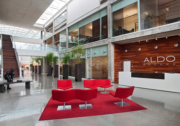 Aldo Group featured in a Les Affaires special edition on design