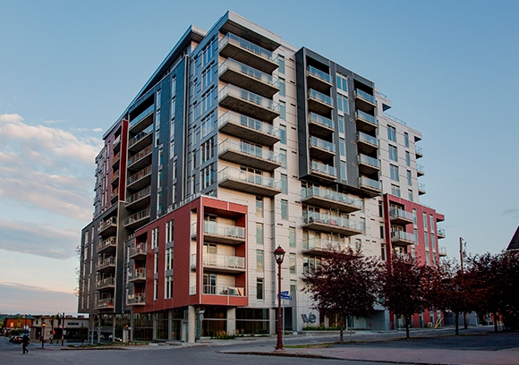 Condos Le W/E - certification LEED-NC, argent